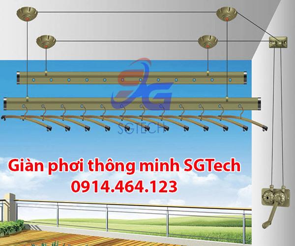 Giàn phơi thông minh quận Tân Bình