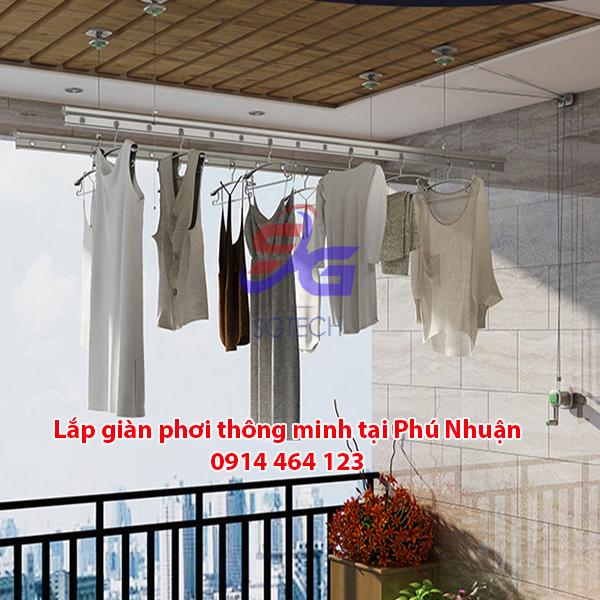 Lắp giàn phơi quận Phú Nhuận
