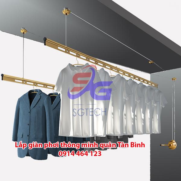 Giàn phơi quần áo thông minh quận Tân Bình